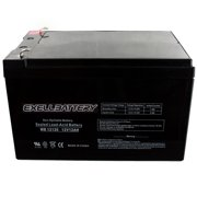Exell 12V 12Ah SLA Battery Rechargeable AGM replaces UB12120, D5744