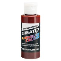 2oz Createx Red Oxide Transparent 5136 - 2Z Airbrush Paint Color