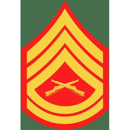 US Marine E-7 Gunnery Sergeant Emblem Edible Icing Image Cake Cookie or Cupcake topper - Halloween Cupcake Icing Ideas