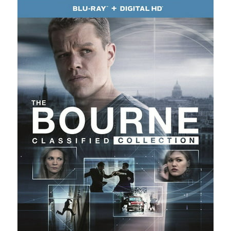 The Bourne Classified Collection (Blu-ray + Digital Copy)