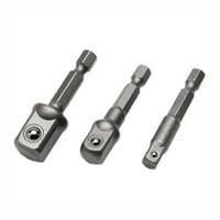 Power Drill Socket Adapter - Set of 3