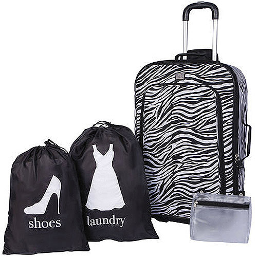 Protege 4-Piece Luggage Set, Multiple Colors