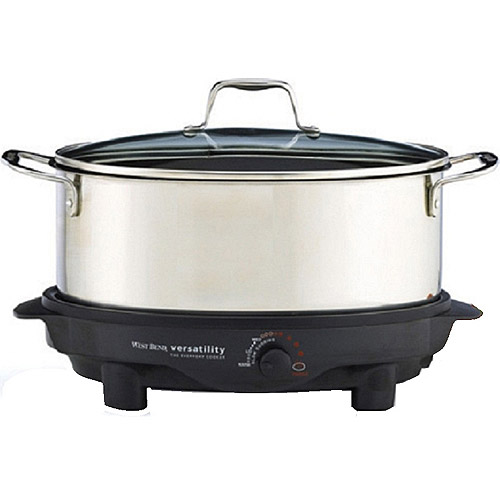 West Bend 6-Quart Everyday Slow Cooker