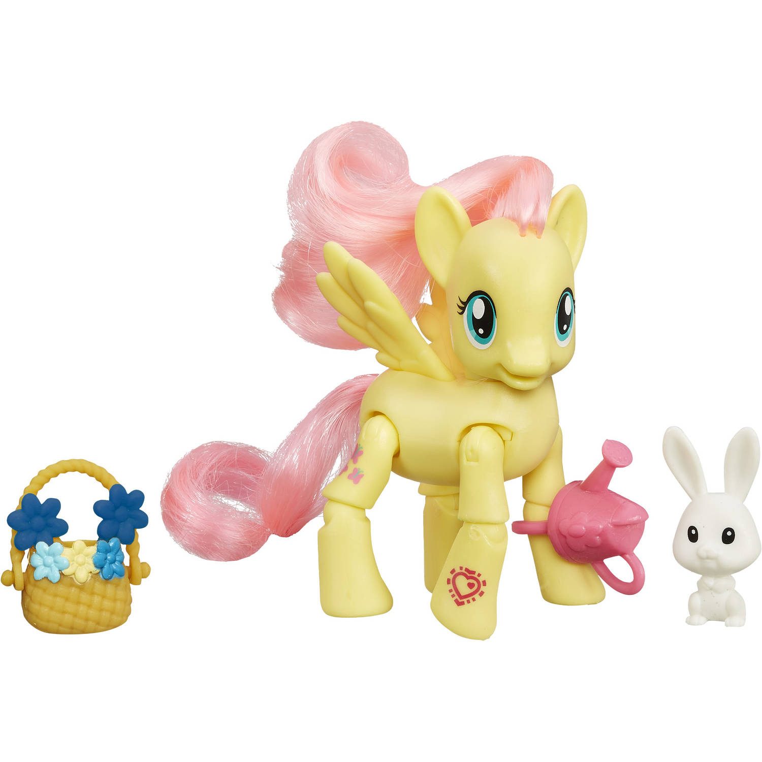 My Little Pony Friendship Is Magic Fluttershy Flower Picking Poseable Pony