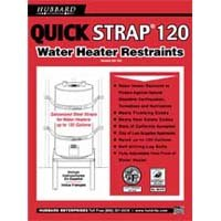 WATER HEATER STRAP 120GAL