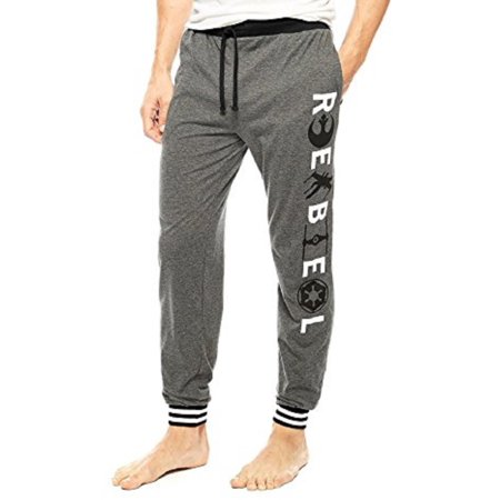 Star Wars Onesie Adults (Briefly Stated Disney Star Wars Rebel Symbols Men's Jogger Pants Lounge Pajama Sleep Pants Adult)