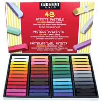 Sargent Art® Assorted Colored Square Pastels, Box of 48