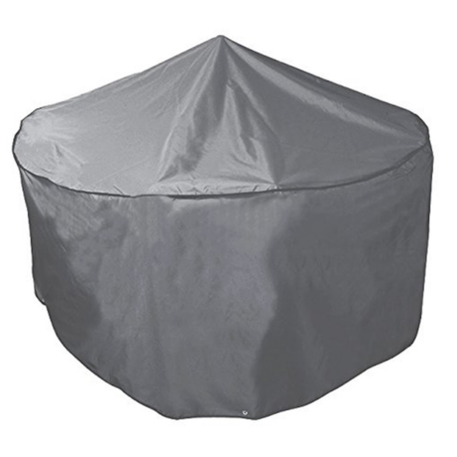 Bosmere Waterproof Grey Outdoor Cover for Round Outdoor Table & Chair Set - 64W x 33H in.