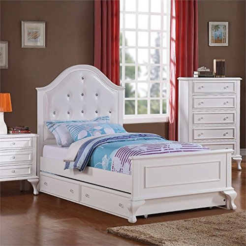 Picket House Furnishings Jenna Panel Bed-Size:Full,Type:With Trundle