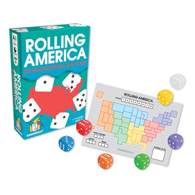 Gamewright GMW1204D Rolling America Board Game