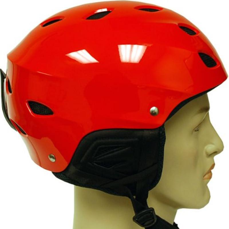New WOW Snowboard Ski Sports Snow Helmets Youth & Adult Size Glossy Red by