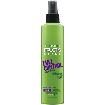 Garnier Fructis Style Full Control Anti-Humidity Hairspray 8.5 FL (Best All Natural Hairspray)