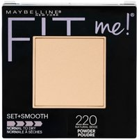 Maybelline Fit Me Set + Smooth Powder, Natural Beige, 0.3 oz.