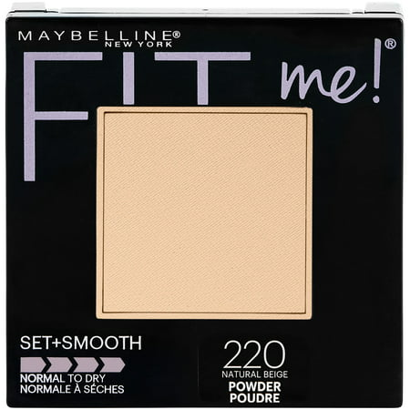 Maybelline Fit Me Set + Smooth Powder, Natural Beige for $<!---->