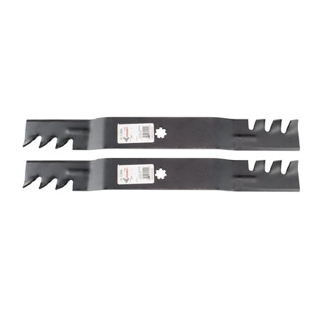"""2 Copperhead Mulching Mower Blades Fit John Deere Models D100 LA100 Replaces OEM GX22151 GY20850 For 42"""" Deck, Rotary® replacement lawn mower (John Deere 42 Mower Deck For Sale)"""