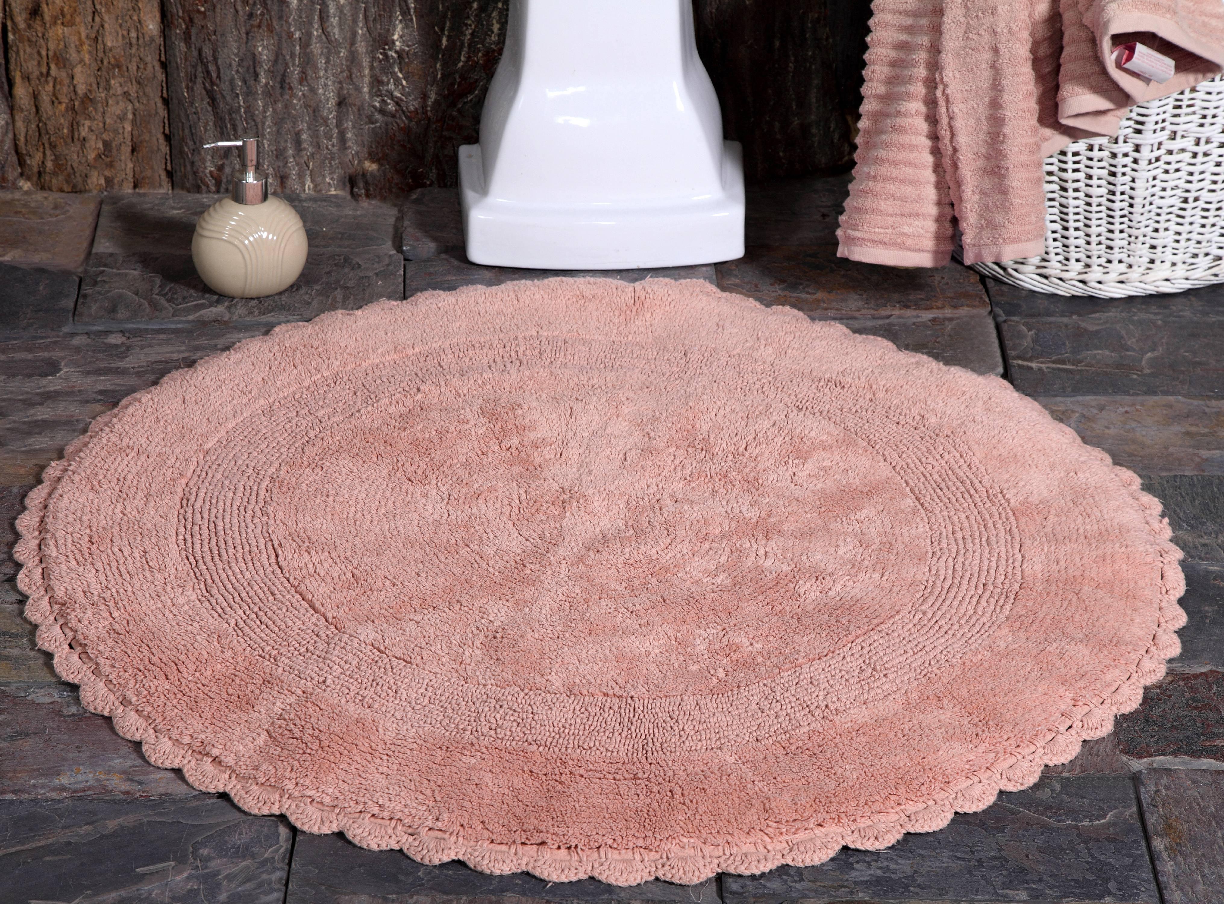 Bath Rug 100 Soft Cotton 36 Inch Round