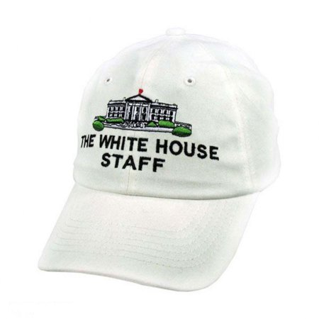 White House Staff Strapback Baseball Cap Dad Hat - ADJUSTABLE - White -  Walmart.com 2e2606ee436