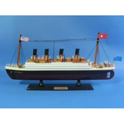 Handcrafted Nautical Decor RMS Titanic Model Ship
