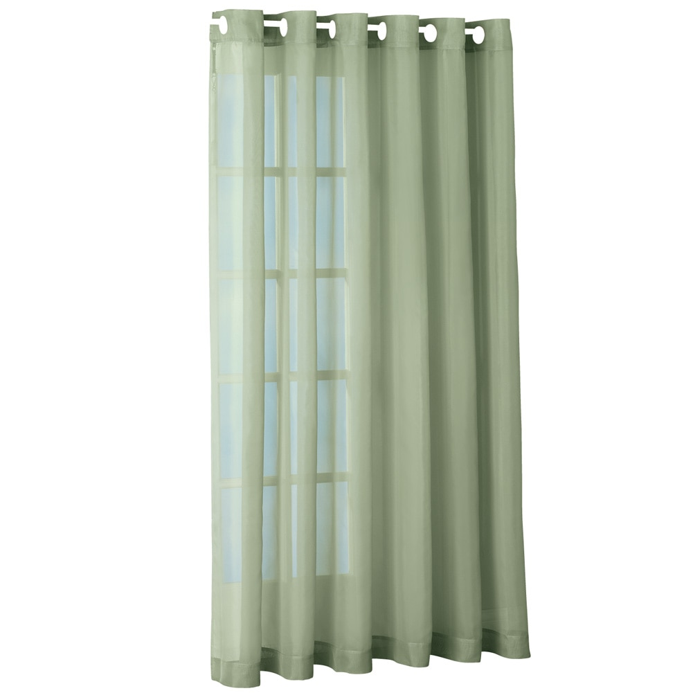 Sheer Privacy Back Patio 100 Quot W Extra Wide Grommet Top