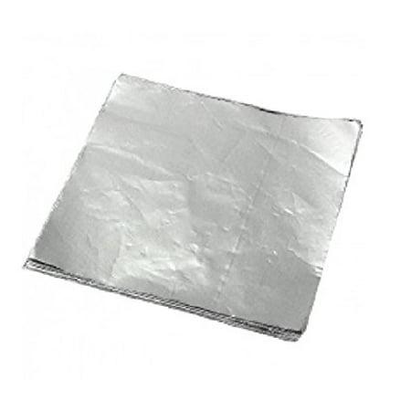 SafePro 720R, 12x10.75-Inch Food Wrap Aluminum Foil Sheets, Foodservice Foil Paper 200-Piece Pack