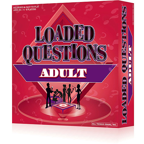 All Things Equal Loaded Questions Board Game   Adult Version