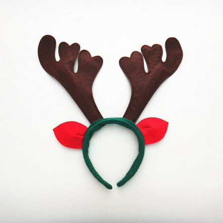 Flying Outlets Christmas Hair Band Hairband Elk Antlers Headbands Women Girl Headwear](Reindeer Antler Headband Craft)