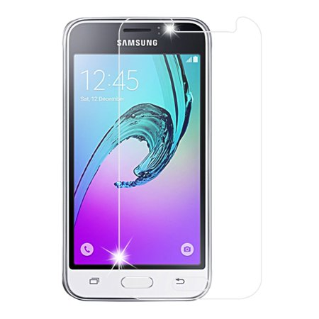 Insten 2.5D Clear Tempered Glass Screen Protector for Samsung Galaxy Amp 2 / Express 3 / J1