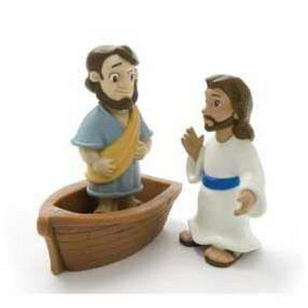 Toy-Figurine-Tales Of Glory: Jesus Walks On - Jesus Walks On Water Craft