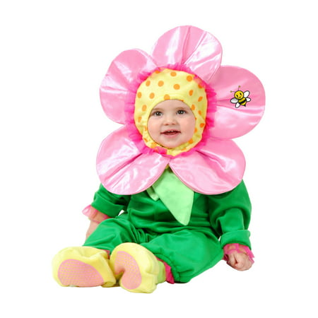 Little Flower Baby Infant Toddler Halloween Costume](Tiger Halloween Costume For Baby)