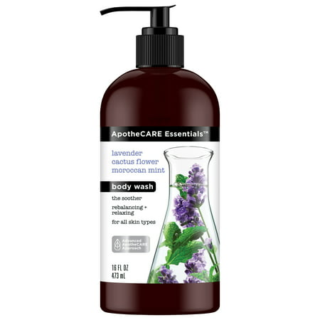 ApotheCARE Essentials The Soother Body Wash Lavender, Cactus Flower, Moroccan Mint 16 oz