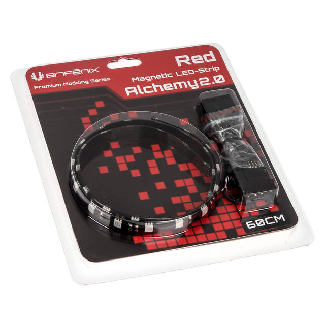 Bitfenix BFA-MAG-60RK30-RP Alchemy 2.0 Magnetic 60cm Led Strips [red]