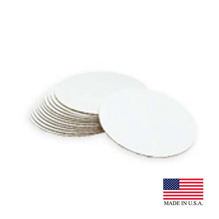 Die Cut Products 76094 PE 16 in. White Cake Circle - Case of (Dia Case)