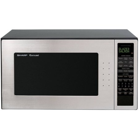 Sharp R530EST 2.0 cu. ft. 1200W Full-Size Microwave Oven, Stainless Steel