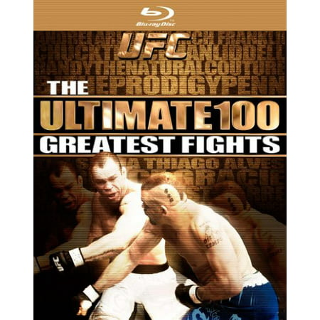 UFC: Ultimate 100 Greatest Fights (Blu-ray)