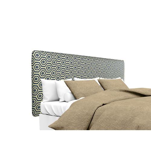 MJL Furniture Ashton Upholstered Panel Headboard