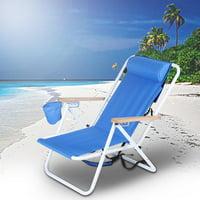 YLSHRF Beach Folding Armchair Outdoor Folding Chair Camping Mountaineering Chair, Lounge Chair, Folding Lounge Chair