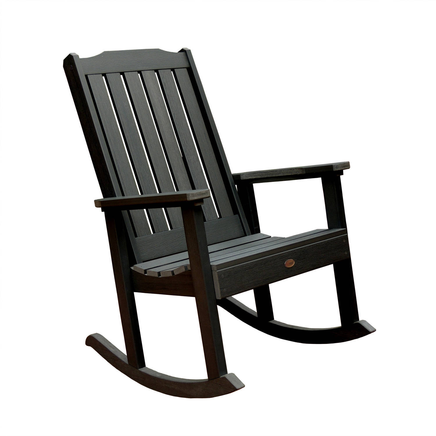highwood® Eco-Friendly Recycled Plastic Lehigh Rocking Chair
