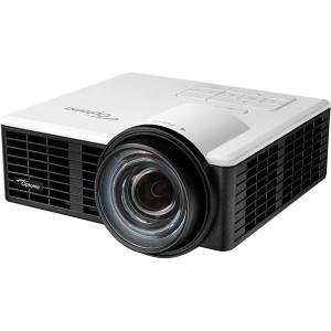 Optoma ML750ST Short Throw LED Projector - Front - LED - 20000 Hour Normal Mode - 1280 x 800 - WXGA - 20,000:1 - 700 lm - HDMI - USB - 77 W - 2 Year Warranty 20K:1 HDMI/MHL 0.87LBS USB MICRO SD