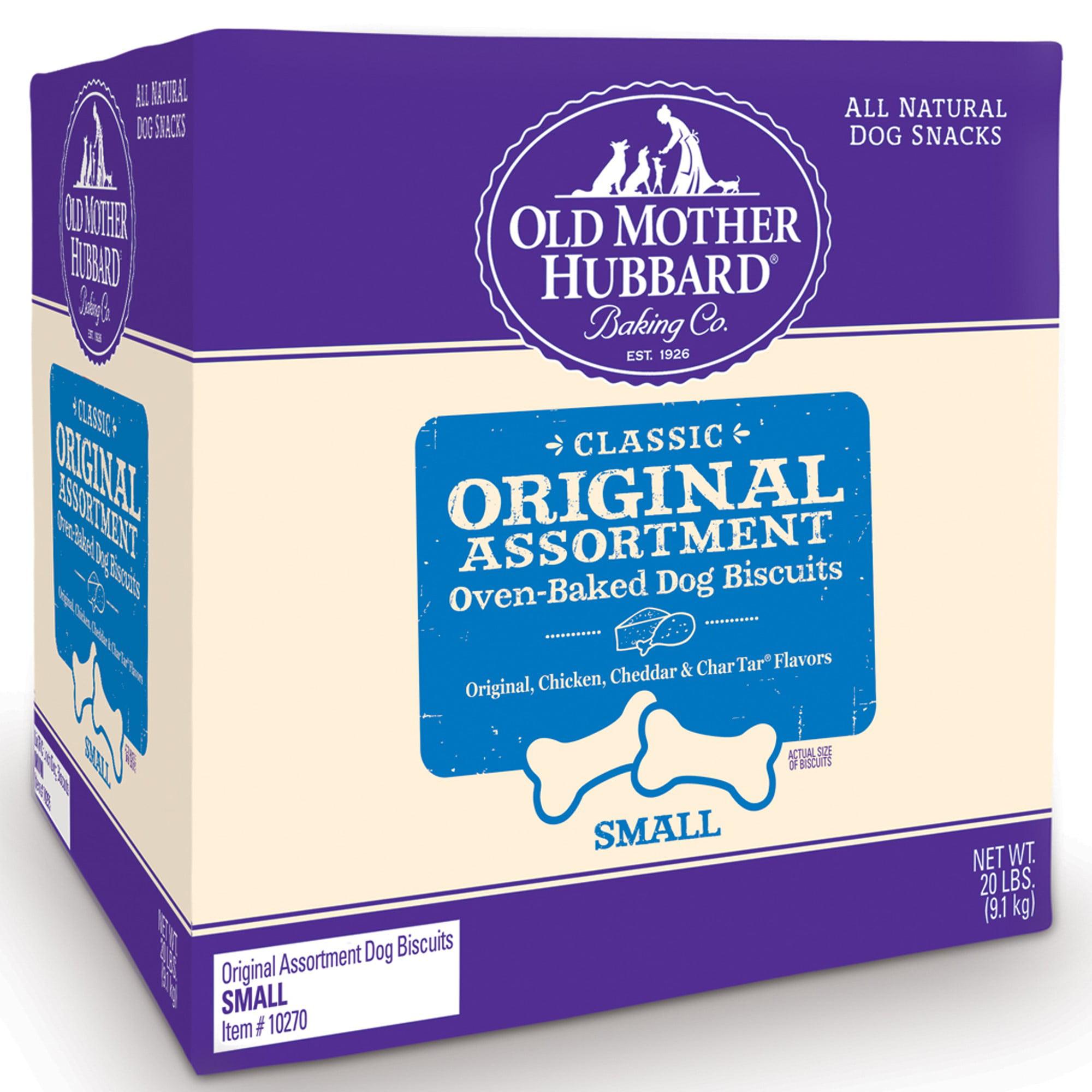 Old Mother Hubbard Classic Original Assortment Small Assorted Flavors Dog Treats, 20 Lb