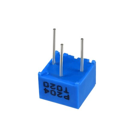 Resistors 200k Ohm Top Adjustment Horizontal Cermet Potentiometer 6 Pcs - image 5 de 6