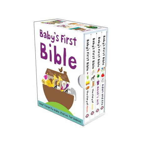 Baby's First Bible Boxed Set : The Story of Jesus, Noah's Ark, the Story of Moses, Adam and Eve - Halloween Stories For First Grade