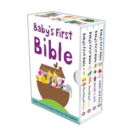 Baby's First Bible Boxed Set : The Story of Jesus, Noah's Ark, the Story of Moses, Adam and (Noah's Ark Toy Set)