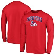 Fresno State Bulldogs Fanatics Branded Campus Long Sleeve T-Shirt - Red