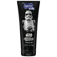 Suave Kids Star Wars Stormtrooper Tropical Storm Hair Gel, 7 Oz