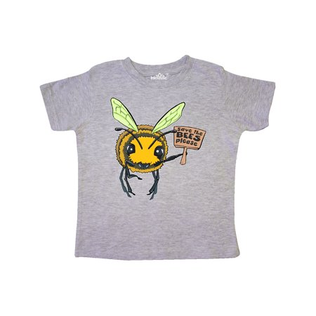 Bumble Bee Outfits For Toddlers (Save the Bees, Please- cute bee with sign Toddler)