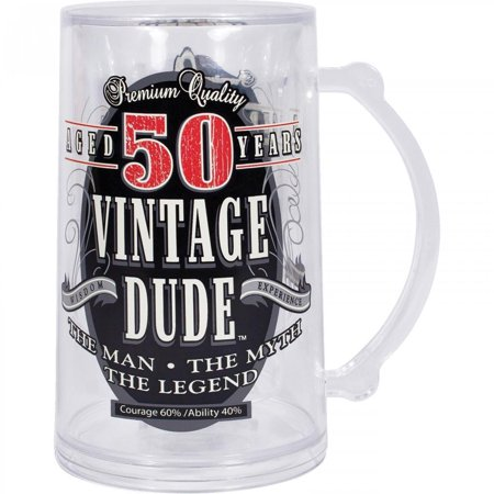 Creative Converting Vintage Dude 50th Birthday Tankard](50th Birthday Accessories)