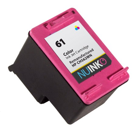 NUINKO Remanufactured HP 61 Color Ink Cartridge Replacement