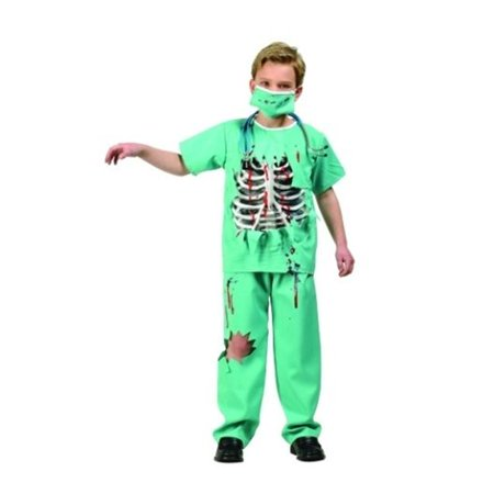 RG Costumes 90261-S Scary ER Doctor - Size Child Small - Er Doctor Costume