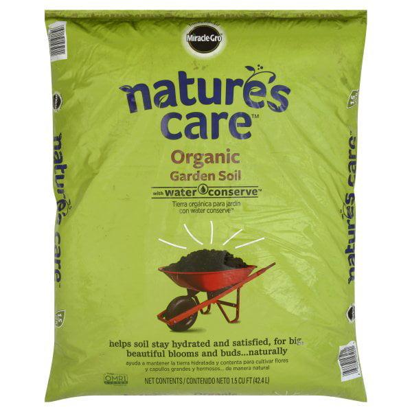 Scotts, Miracle Gro Nature's Care Organic Garden Soil, 30 lb