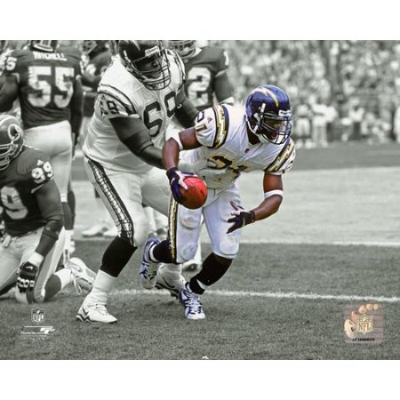 LaDainian Tomlinson First NFL Touchdown 2001 Spotlight Action Photo -